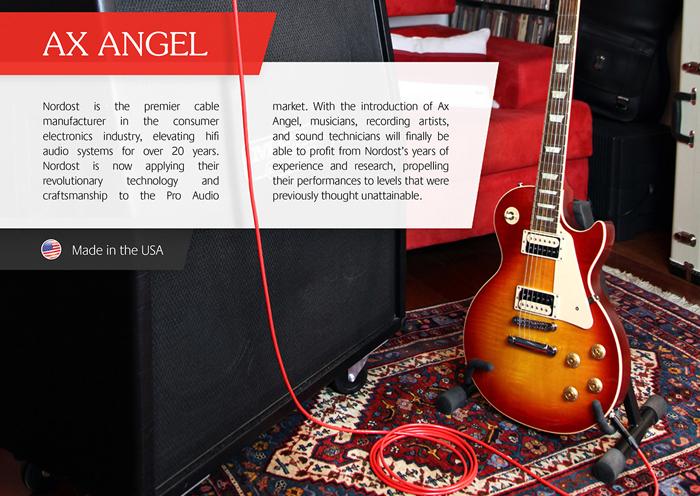 专业音乐新版图 Nordost AX Angel系列音乐导线