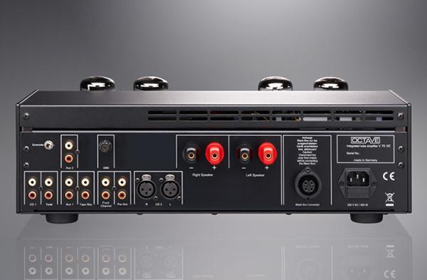 透过偏压调整享受换管乐趣 Octave V70 SE真空管放大器