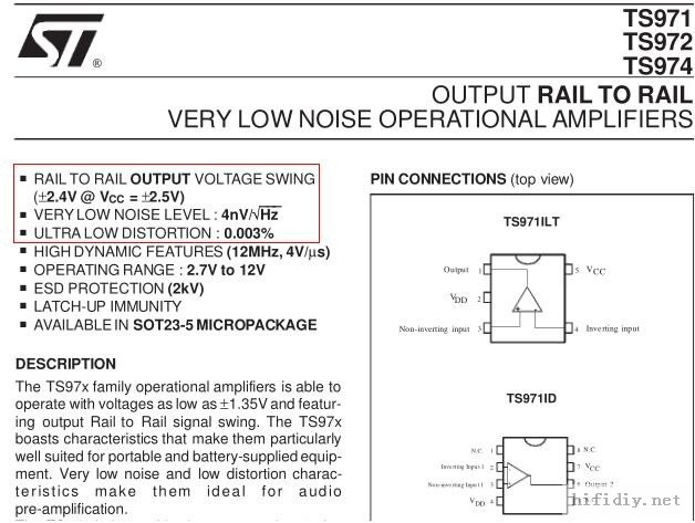 单端模拟输入的双30W(8Ω)数字纯后级功放