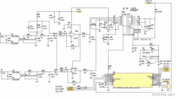 buffer adc电路原理图
