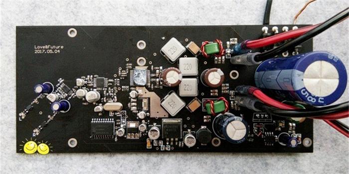 PCB板贴板完工