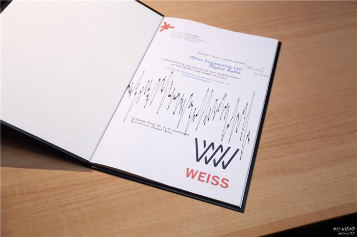 Weiss DAC 501/502 XTC演示会