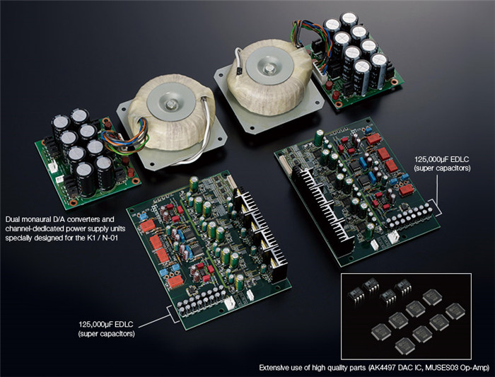 Esoteric N-01 Network Audio Player