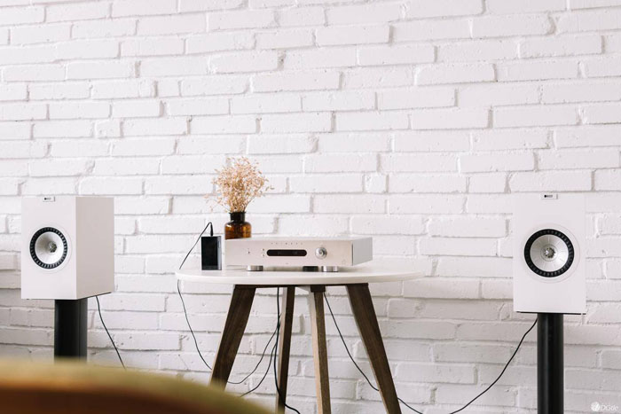 白之典雅 KEF Q350书架式音箱