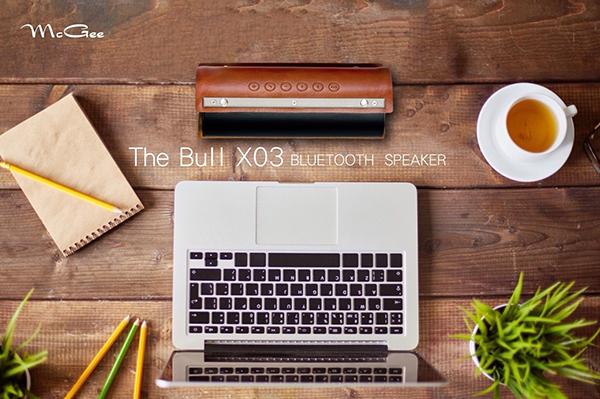 McGee The Bull X03推出限量黑色版