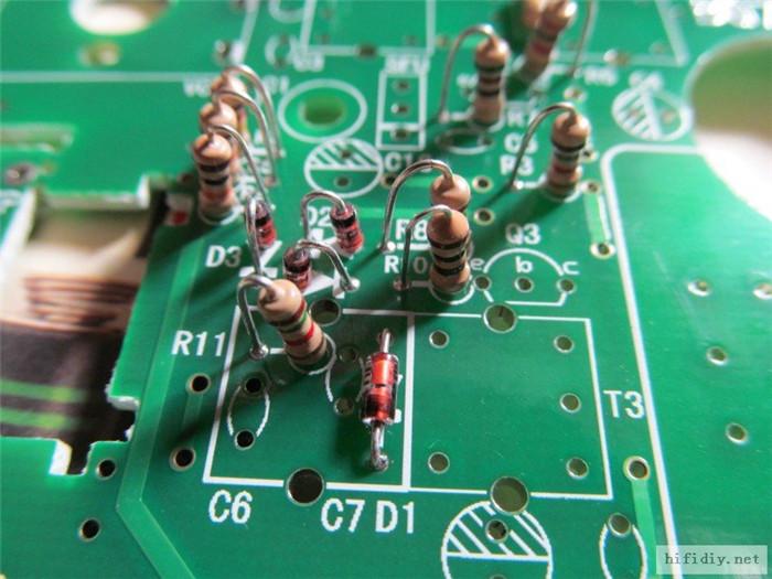 德生2P3收音机套件制作