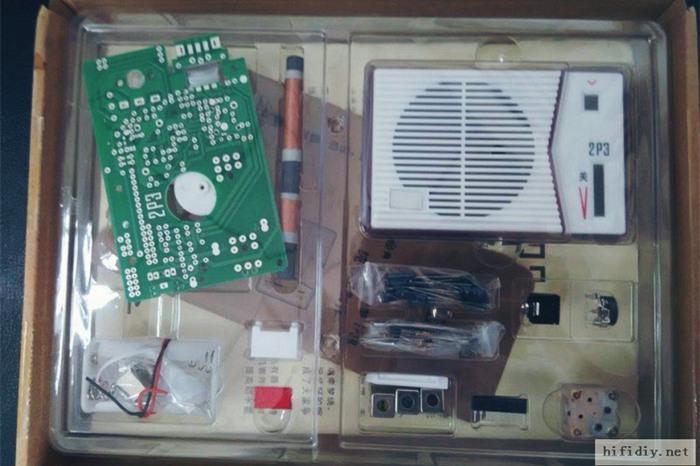 德生2P3收音機套件