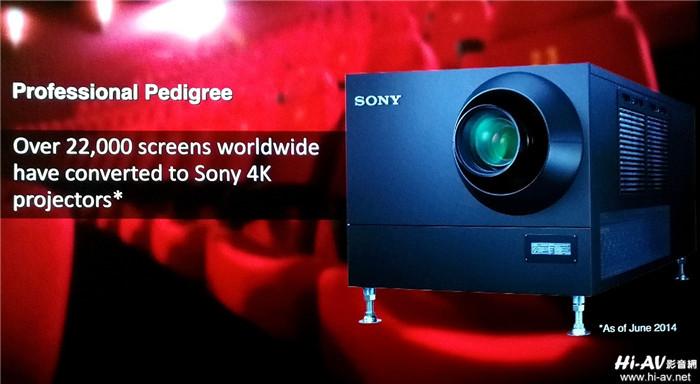 Sony家庭影院投影机