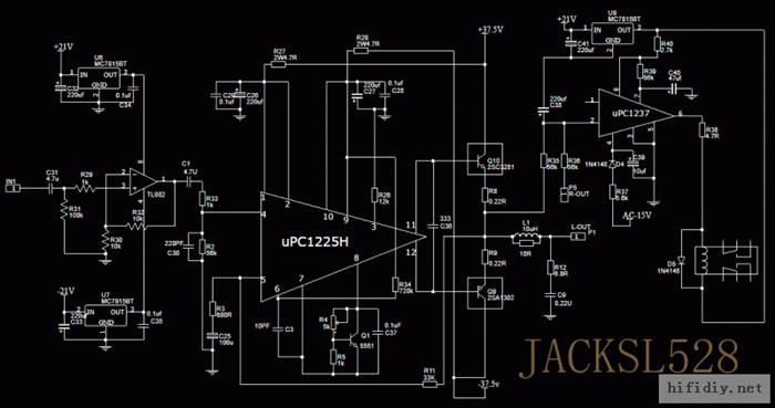 uPC1225功放设计制作