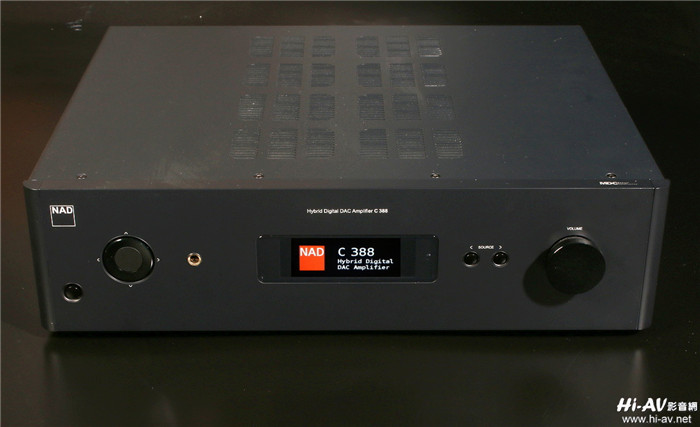 digital放大电路的全新classic系列c338,c368与c388,就是nad的21世纪