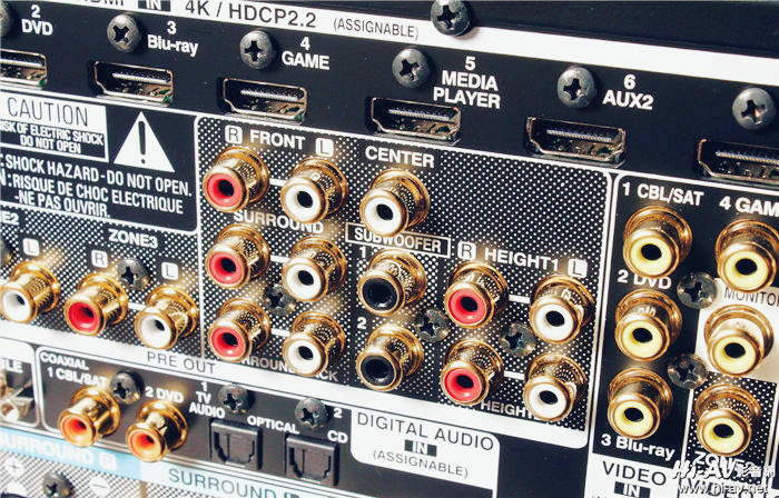 Denon AVR-X6400H次旗舰环扩