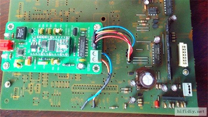 建伍6020CD機主板改解碼器