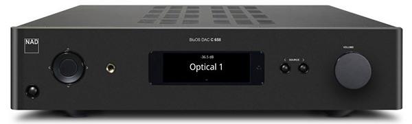 可模組化升級 NAD C 658串流前級DAC