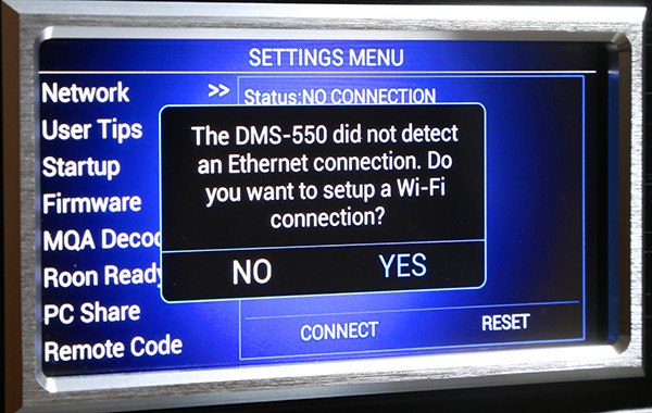 Cary Audio DMS-550串流播放機