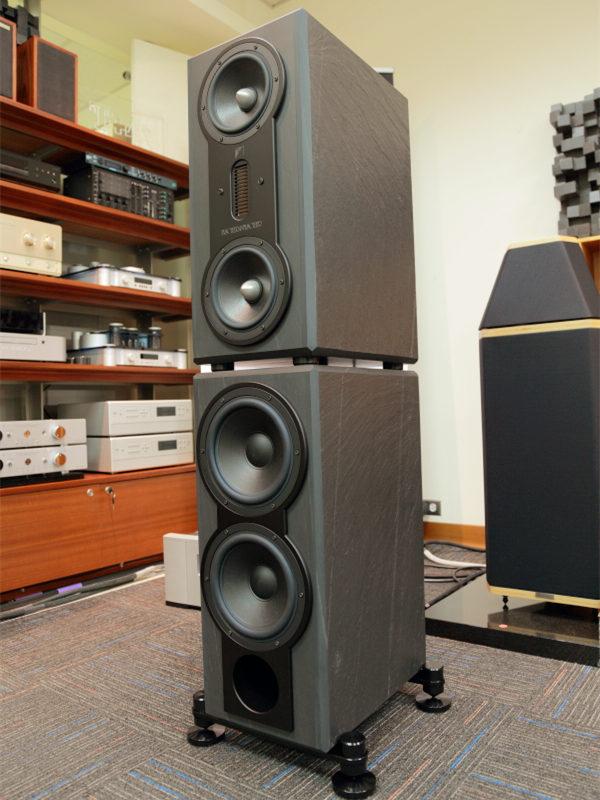 天然板巖喇叭體驗 Fischer & Fischer SN670試聽