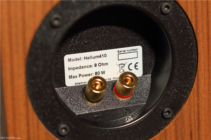 芬兰极简好声 Amphion Helium 410书架音箱