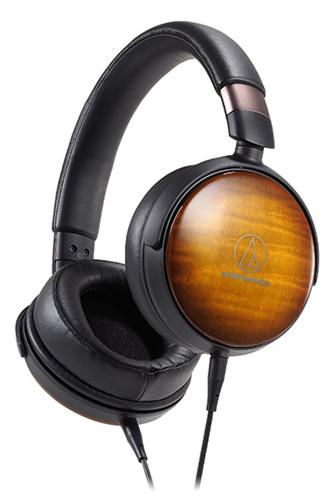 鐵三角Audio-Technica發表三款木質耳罩耳機