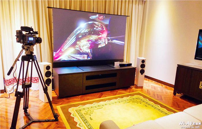 TECA2019音响展影音观察:画面尺寸够大才过瘾