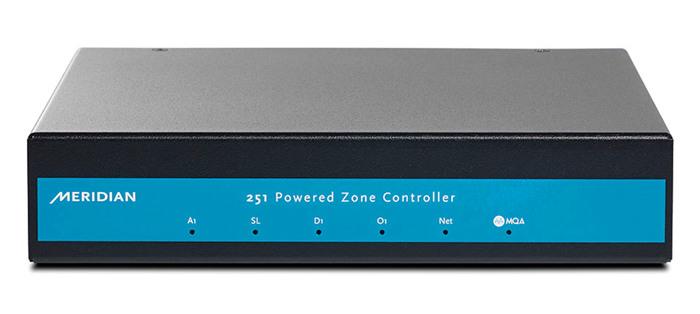 支持MQA解碼 Meridian 251區域控制放大器